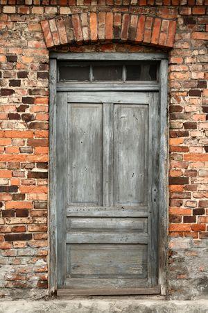 front doors: vintage door Stock Photo