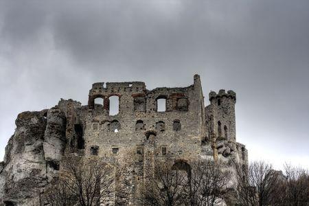ogrodzieniec: Castle in Ogrodzieniec, Poland
