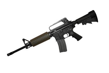 rifle isolated Stock Photo - 5790537