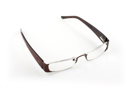 protecting spectacles: glasses isolated