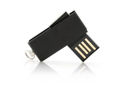 anodized aluminium: USB flash drive