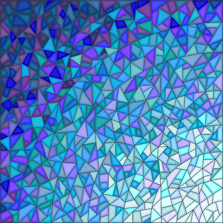 gamma: Abstract stained glass background ,gamma blue Illustration