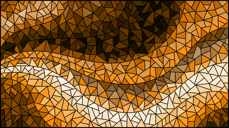 Abstract stained glass background.