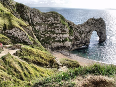 Durdle Door on the Jurassic Cost