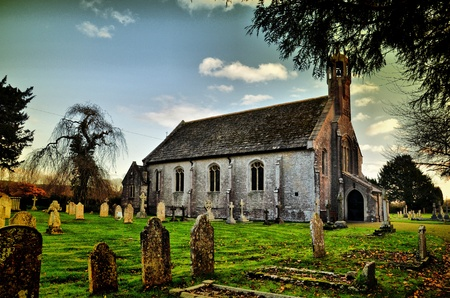 The Church at Holdenhurst Village Stock Photo - 11744008