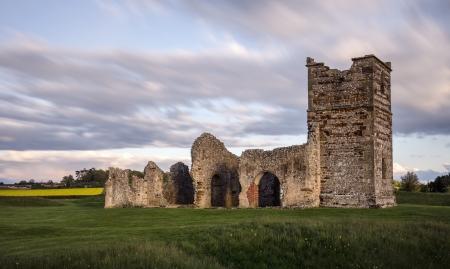 Ruined Mediaeval Church Stock Photo - 16505687
