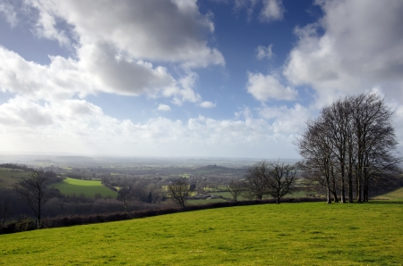 shaftesbury: The rolling hills of Cranborne Chase in Dorset