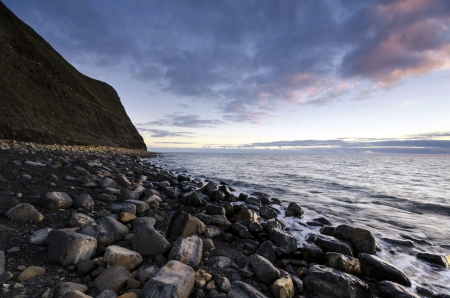 Kimmeridge Bay on Dorset's Jurassic coast Stock Photo - 17094398