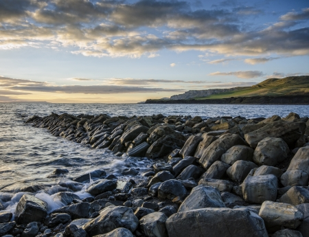 Kimmeridge Bay - Dorset Stock Photo - 17232000