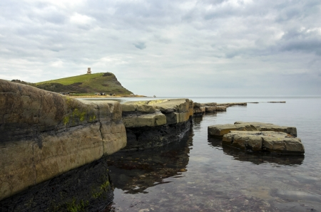 Kimmeridge Bay on Dorset Stock Photo - 18051022
