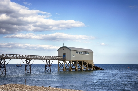 lifeboat station: Selsey Bill lighthouse station