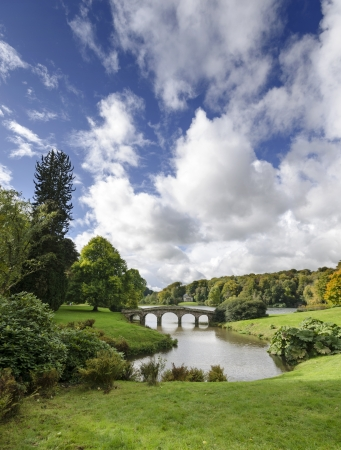 Bridge at Stourhead in Wiltshire