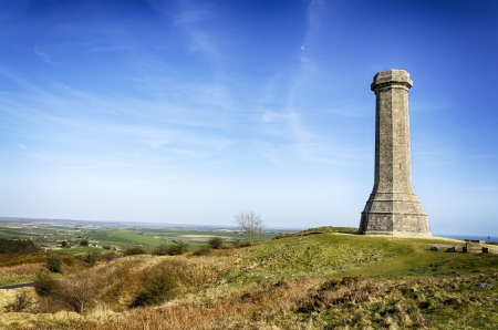The Hardy monument on Black Down at Porchester near Dorchester in Dorset Stock fotó