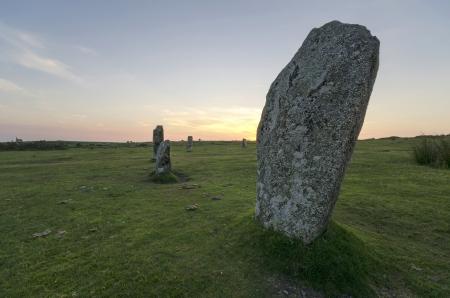 bodmin: The Hurlers Stone Circle on Bodmin Moor
