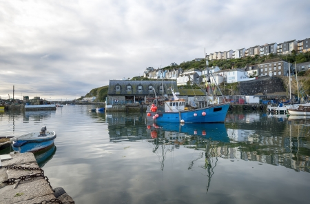 The harbout at Mevagissey in Cornwall photo
