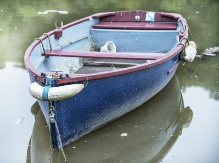 Boat on the River at Lerryn near Lostwithiel in Cornwall photo