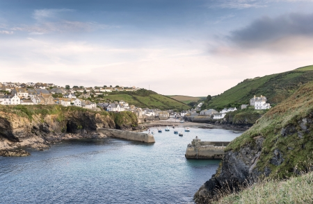 Port Isaac een historische vissershaven aan de noordkust van Cornwall