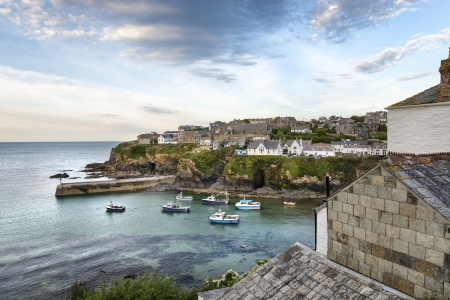 Port Isaac an historic fishing port on the north coast of Cornwall photo