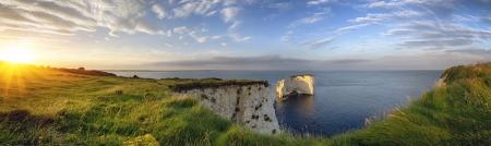 Old Harry Rocks op de Jurassic Coast in Dorset