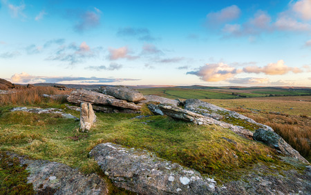 bodmin: A view across Bodmin Moor from Alext Tor in Cornwall