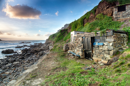 fishing huts: Fishing huts at Priest