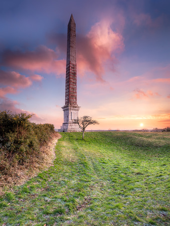 bodmin: The Bodmin Beacon a 144 foot tall obelisk overlooking the town of Bodmin in Cornwall