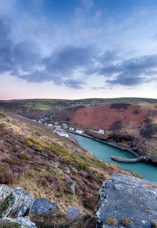 Boscastle in Cornwall