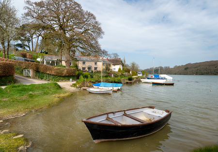 clement: St Clement a small village on the banks of the Tresillian river just outside of Truro in Cornwall