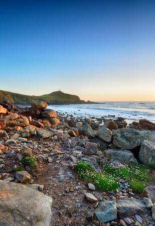 The Cornish coast at Cape Cornwall near Lands End