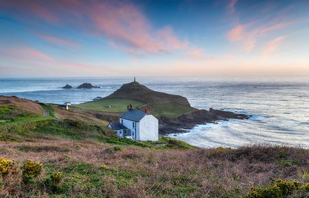The rugged Cornish coast at Cape Cornwall near Land's End