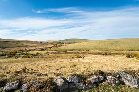 bodmin: Looking out over Bodmin Moor to Leskernick Hill