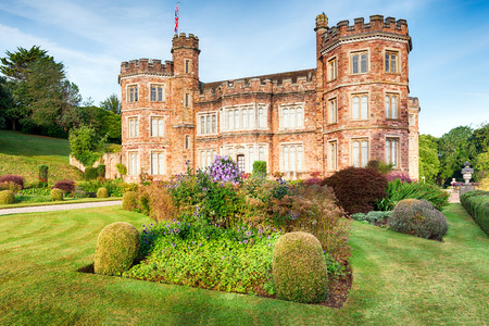 stately: An English statley home at Mount Edgcumbe in Cornwall