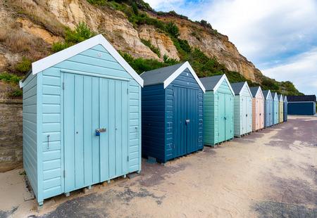 beach huts: Beach Huts at Bournemouth
