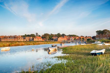 The village of blakeney on the north coast of Norfolk