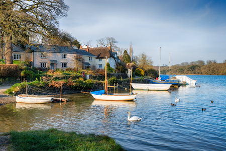 clement: The tiny village of St Clement situated on the banks of the Tresillian River near Truro