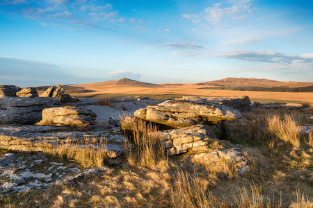 willy: A view over Bodmin Moor with Roughtor and Brown Willy in the distance