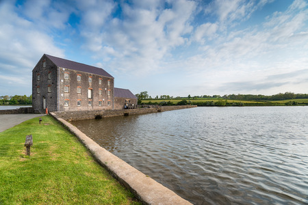 pembrokeshire: The tidal mill at Carew in Pembrokeshire, Wales