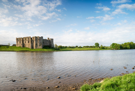pembrokeshire: The castle at Carew in Pembrokeshire in Wales