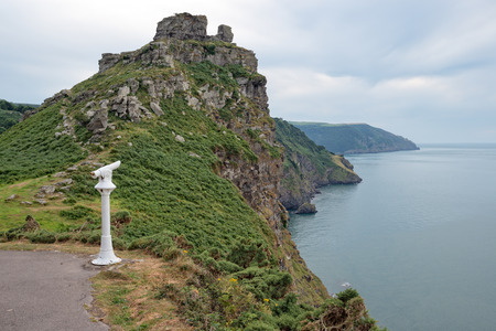 lynmouth: The Valley Of The Rocks at Lynnmouth on the north coast of Devon