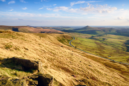 The view from Shining Tor, the highest peak in Cheshire