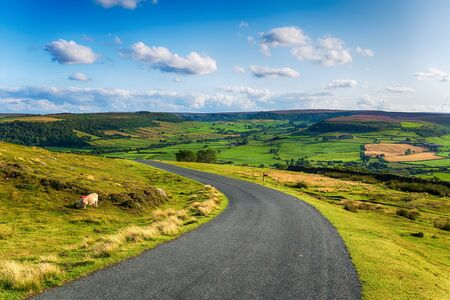 The countryside at Danby in the North York Moors National Park in Yorshire