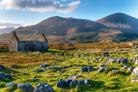 The old manse at Kilchrist on the Isle of Skye in Scotland Stock fotó