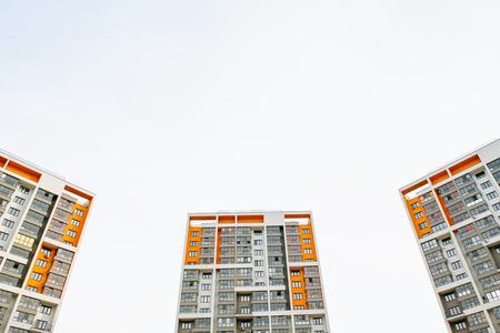 urbanism: new building Stock Photo