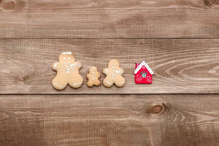 tree services company: family and house Stock Photo