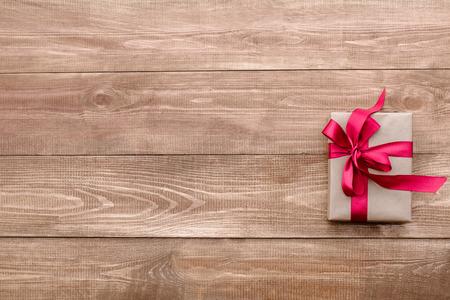 dar un regalo: regalo Foto de archivo