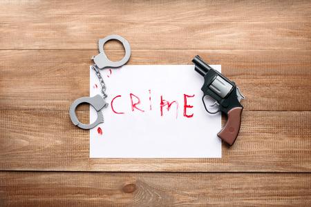 violation: la foto que ilustra violación de la ley, los delitos soveresheny