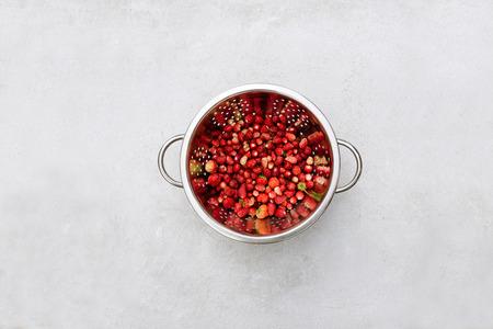 'wild strawberry: ripe and fresh wild strawberry