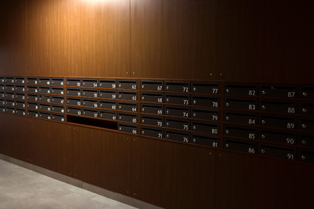 mailboxes in the house