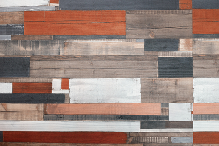 wooden multi-colored boards or sign 写真素材