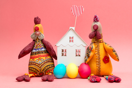 Photo on the theme of the spring holiday Easter